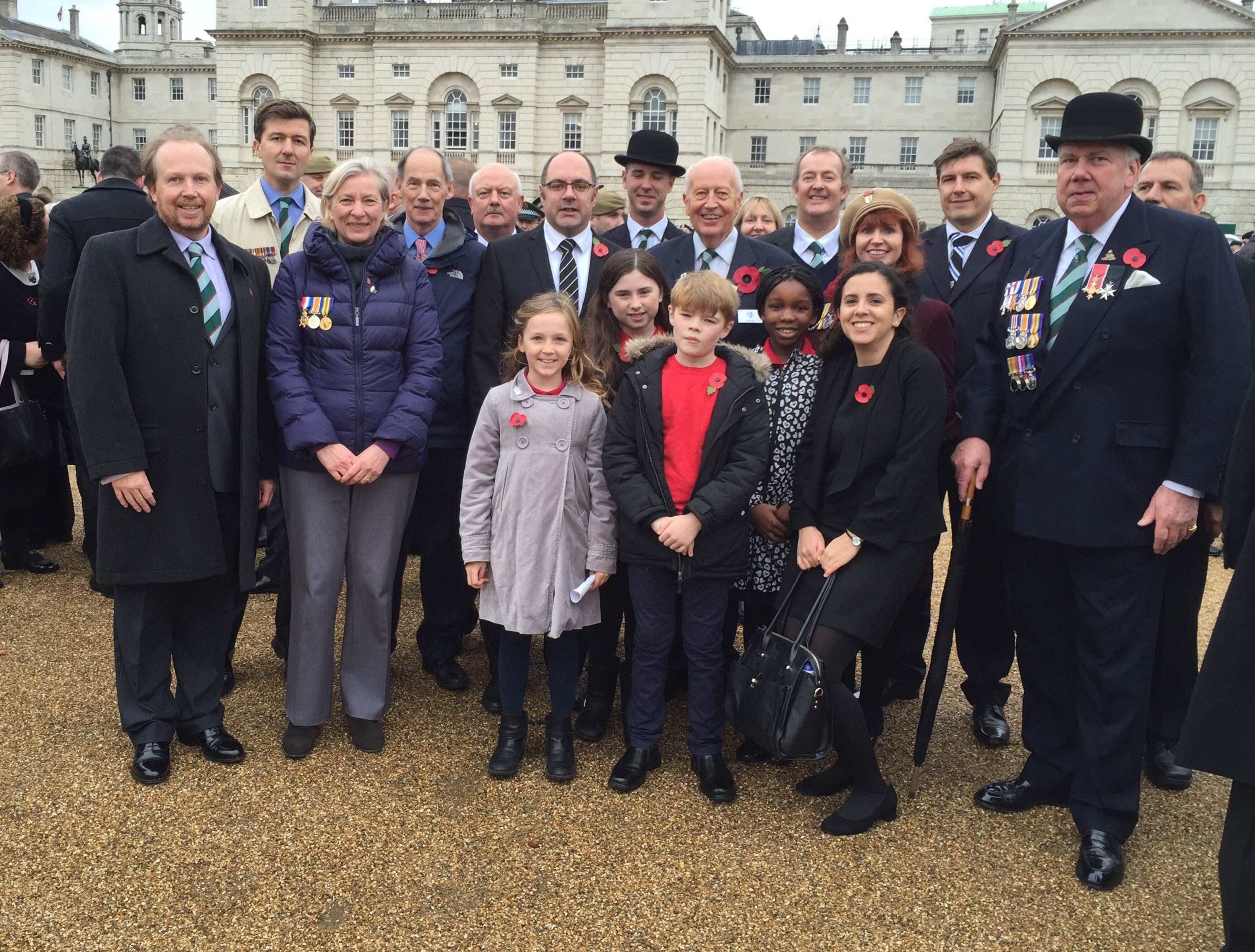 Gallipoli Association and Tufnell Park Primary School Group