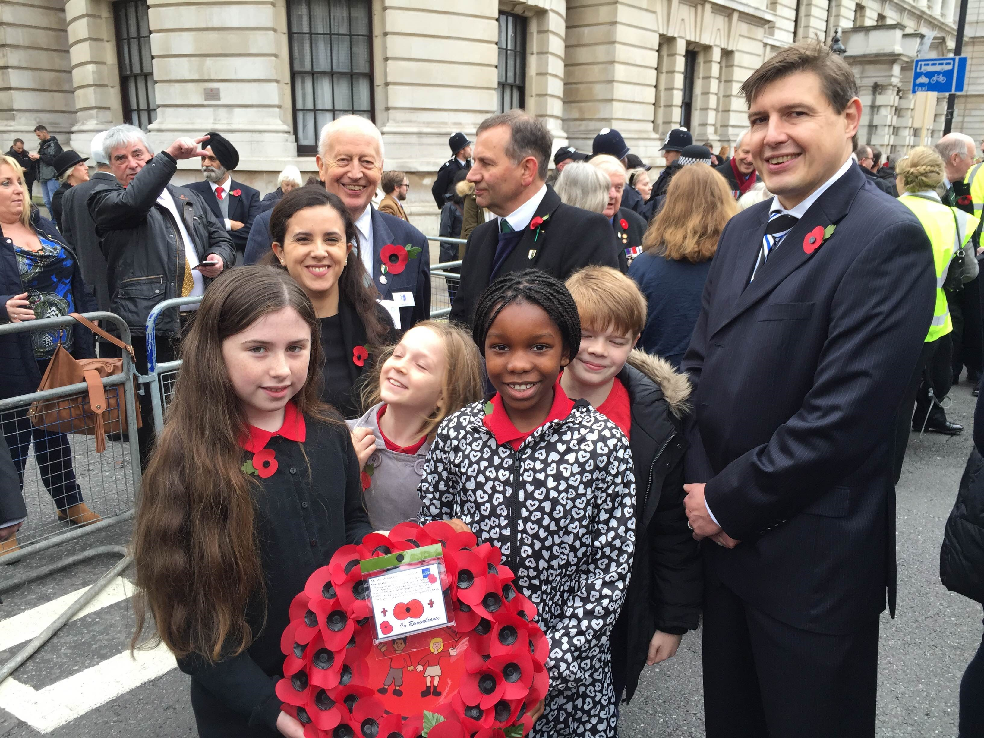 Tufnell Park Primary School join us at the Cenotaph