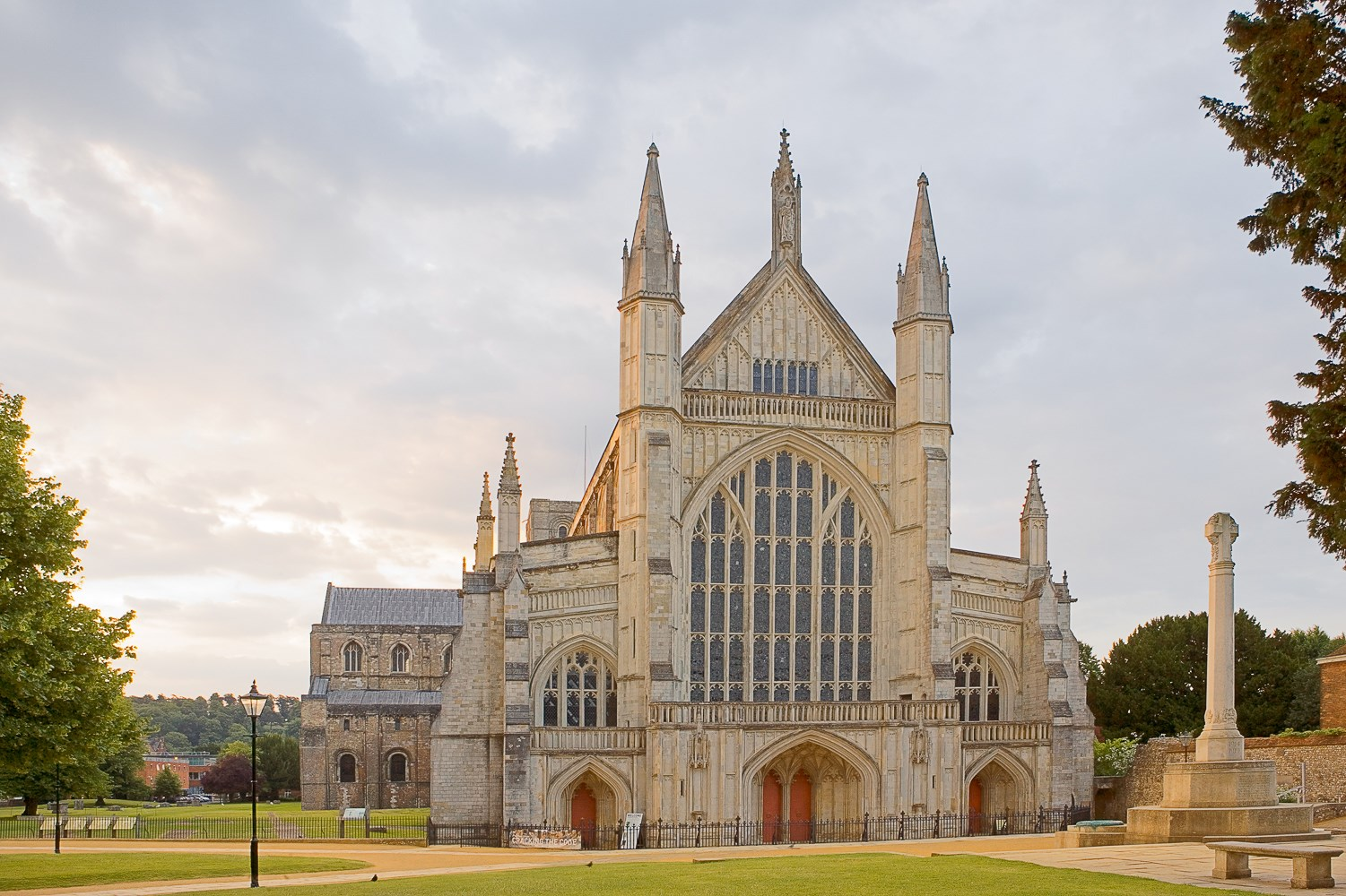 Winchester Cathedral, Address by Christoper Fagan
