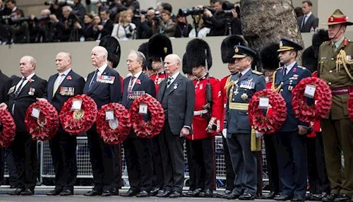 Remembrance Sunday Cenotaph Parade - 11 Nov 2018