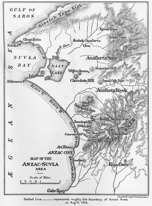 Maps of Gallipoli - The Gallipoli Association