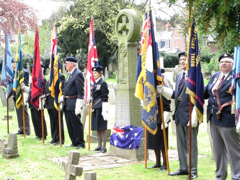 Anzac Day 2016 service in Peterborough