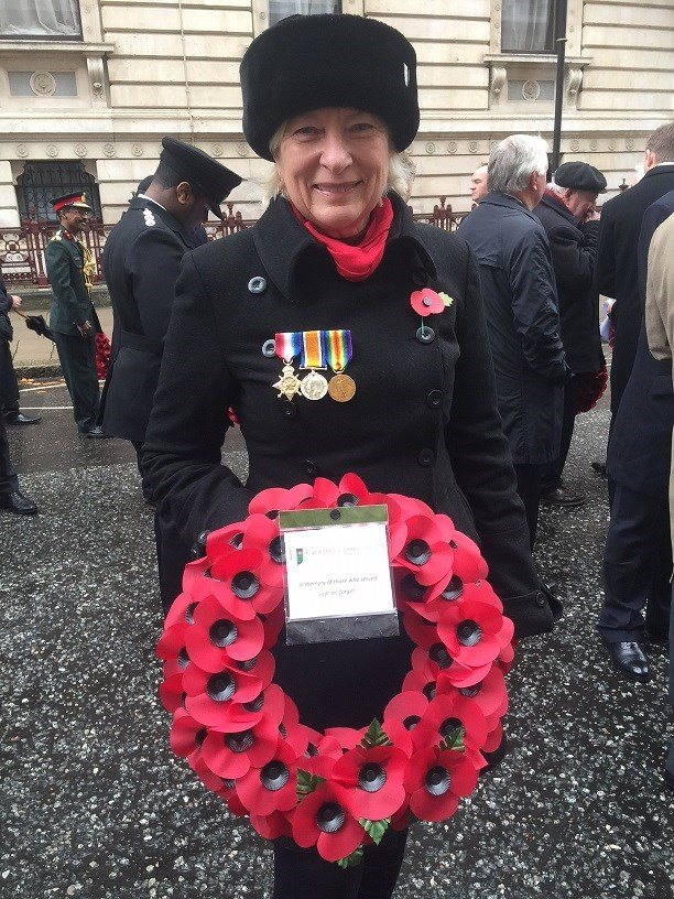 REMEMBRANCE COMMEMORATIONS AT THE CENOTAPH ON 11 & 12 NOVEMBER 2017