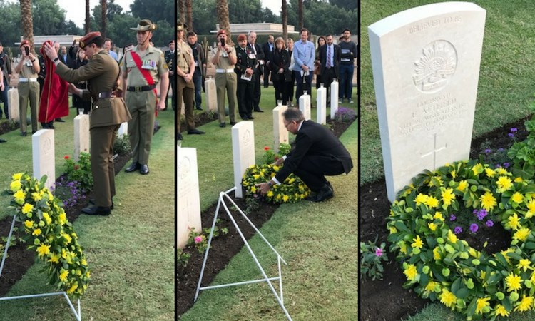 Gallipoli Veterans Grave identified 102 years after his death.
