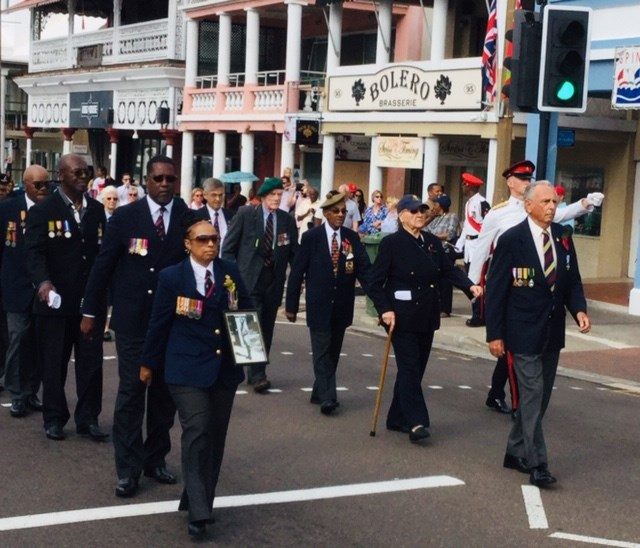 Remembrance Day Parade in Bermuda