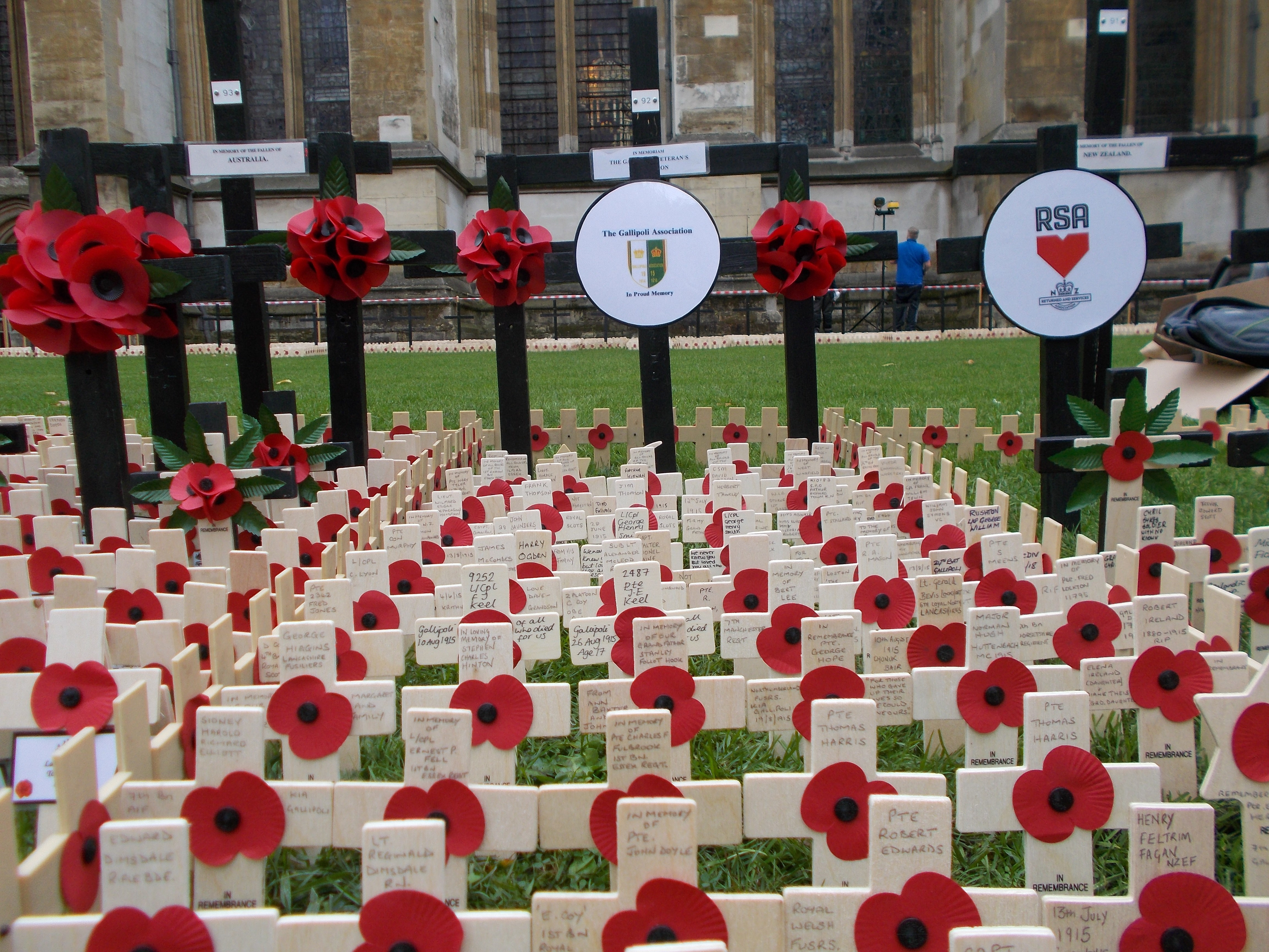 Field of Remembrance 2018